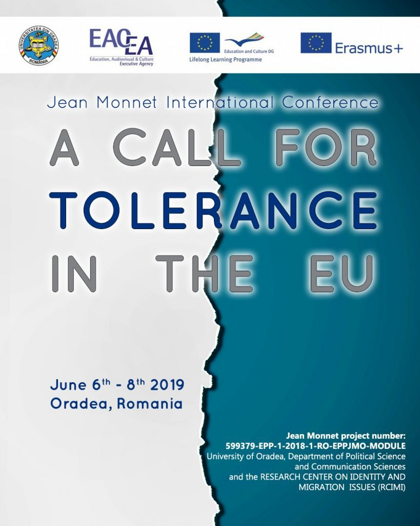 A Call for Tolerance in the EU